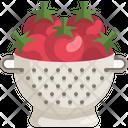 Tomatoes Colander Colander Icon
