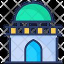 Tomb Coffin Halloween Icon