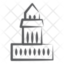 Tomb Shrine Burial Chamber Icon