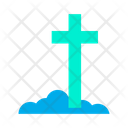 Cementery Cross Funeral Icon