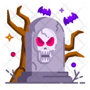 Tombstone Tomb Cemetery Icon