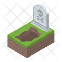Tombstone Grave Halloween Tombstone Icon