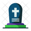 Tombstone Tomb Death Icon