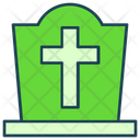 Halloween Tombstone Grave Icon