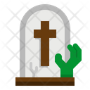 Tombstone Death Scream Icon