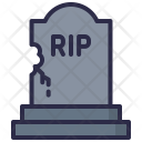 Horror Tombstone Graveyard Icon