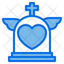 Heart Love Tombstone Icon