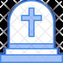 Tombstone Grave Scare Icon