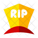 Tombstone Rip Halloween Icon