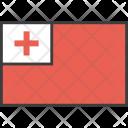 Tonga Country Flag Icon