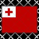 Tonga Flag Flags Icon