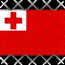 Flag Country Tonga Icon