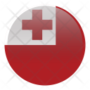 Tonga National Country Icon
