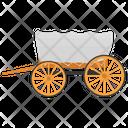 Tonga Open Carriage Horse Cart Icon