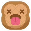 Tongue Dead Monkey Icon