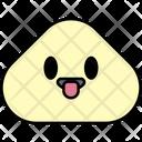 Tongue Out Tongue Emoji Icon