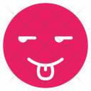 Tongue Out Smile Icon