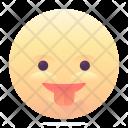 Tongue Smile Emoji Icon