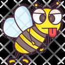 Cartoon Bee Honey Bee Bumblebee Icon