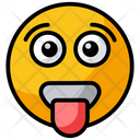 Tongue Out Emoji Icon