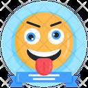 Fools Day Smiley Funny Emoji Icon