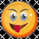 Tongue Out Emoji Icon