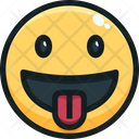 Tongue out face Icon