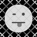 Tongue Emoji Face Icon