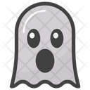Tongue Out Ghost Icon