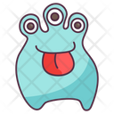 Tongue Out Monster Icon