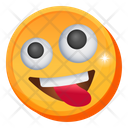 Tongue Out Smiley Icon