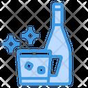 Tonic Soda Beverage Icon