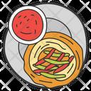 Food Tonkatsu Chinese Cuisine Icon
