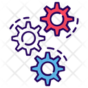 Tool Settings Gears Icon