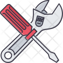 Tool Adjustable Wrench Icon