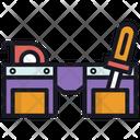 Bag Carpenter Tool Icon
