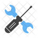 Tool Wrench Screw Icon