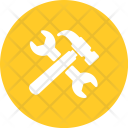 Wrench Hammer Tool Icon
