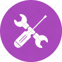 Wrench Screw Driver Icon