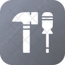 Tool Hammer Construction Icon