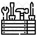 Wrench Fix House Icon