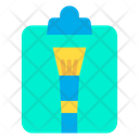 Clipboard Brush Tool Tool Icon