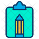 Clipboard Pencil Tool Tool Icon