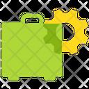 Tool Briefcase Cogwheel Icon