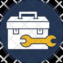 Tool Kit Set Tool Kit Box Wrench Box Icon