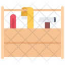 Toolbox Screwdriver Hammer Icon
