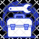 Toolkit Tackle Box Repairing Box Icon