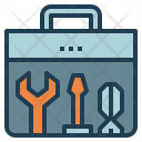 Toolbox Wrench Fix Icon