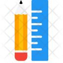 Tools Pencil Ruler Icon