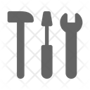 Tools Wrench Hammer Icon